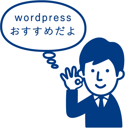 wordpressは世界全体の30%をシェアする人気CMS、WIXに比べると大人気
